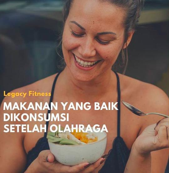 Makanan pendukung fitness